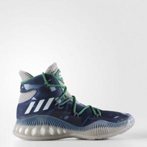 Zapatillas Adidas para hombre crazy explosive medium gris/footwear blanco/mystery azul BB8345-242