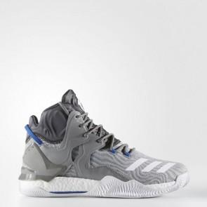 Zapatillas Adidas para hombre d rose 7 primeknit solid gris/footwear blanco/gris oscuro BB8212-245
