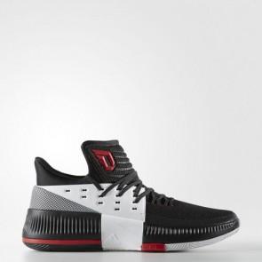 Zapatillas Adidas para hombre dame 3 core negro/utility negro/footwear blanco BB8269-257