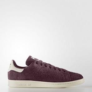 Zapatillas Adidas para hombre stan smith maroon/off blanco S82247-269