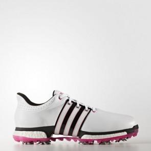 Zapatillas Adidas para hombre tour 360 boost footwear blanco/core negro/shock rosa Q44846-281