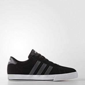 Zapatillas Adidas para hombre daily core negro/gris oscuro/footwear blanco B74477-285