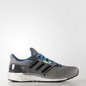 Zapatillas Adidas para hombre super nova vista gris/core negro/unity azul BA9933-292