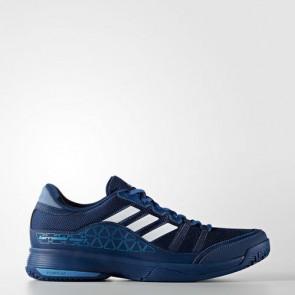 Zapatillas Adidas para hombre barrica court mystery azul/footwear blanco/tech azul metallic BA9151-301