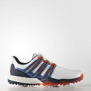Zapatillas Adidas para hombre powerband boa boost footwear blanco/dark slate/energy Q44775-306