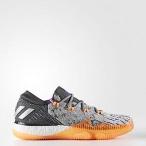 Zapatillas Adidas para hombre crazylight boost low medium gris/gris oscuro/lgh solid gris BB8384-313