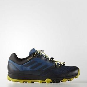 Zapatillas Adidas para hombre terrex trail core azul/core negro/unity lime BB0723-323