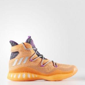 Zapatillas Adidas para hombre crazy explosive primeknit glow naranja/silver metallic/gris oscuro BB8370-338