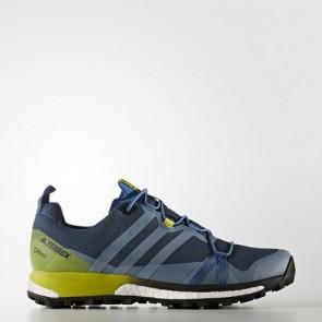 Zapatillas Adidas para hombre terrex agravic core azul/core negro/unity lime BB0956-348