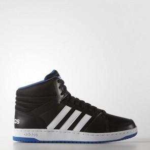 Zapatillas Adidas para hombre vs hoops mid core negro/footwear blanco/azul F99588-357