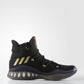 Zapatillas Adidas para hombre crazy explosive primeknit core negro/gold metallic BB8371-360