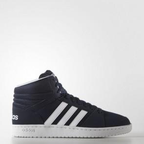 Zapatillas Adidas para hombre vs hoops mid collegiate navy/footwear blanco F99532-364