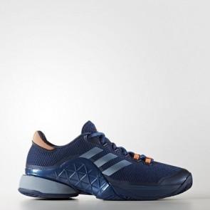 Zapatillas Adidas para hombre barrica mystery azul/tactile azul/glow naranja BA9073-365