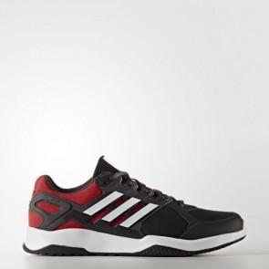 Zapatillas Adidas para hombre duramo 8 core negro/footwear blanco/scarlet BB1746-381