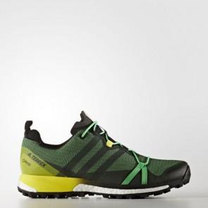 Zapatillas Adidas para hombre terrex agravic energy verde/core negro/bright amarillo BB0959-383