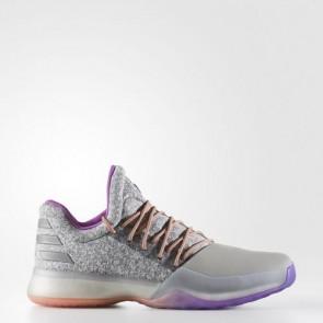 Zapatillas Adidas para hombre harden vol.1 medium gris/gris oscuro/silver metallic BW0549-399