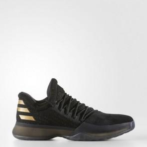 Zapatillas Adidas para hombre harden vol.1 core negro/utility negro/gold metallic BW0545-400