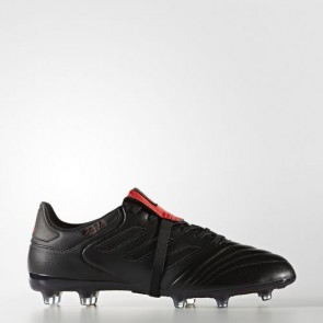 Zapatillas Adidas para hombre ace 17.2 césped natural core negro/core negro/rojo BZ0575-403
