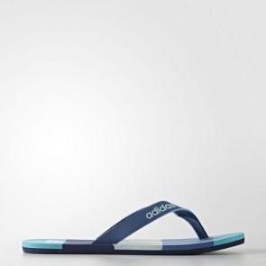Zapatillas Adidas para hombre chancla eezay core azul/mystery azul/tactile verde BA8808-418