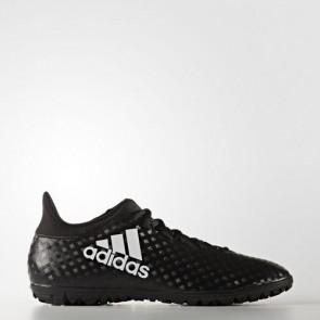 Zapatillas Adidas para hombre x 16.3 calle o moqueta core negro/footwear blanco BB5664-422