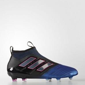 Zapatillas Adidas para hombre ace 17+ césped natural core negro/footwear blanco/azul BB4312-426
