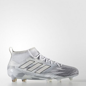 Zapatillas Adidas para hombre ace 17.1 leather césped natural clear gris/footwear blanco/core negro BB5957-432