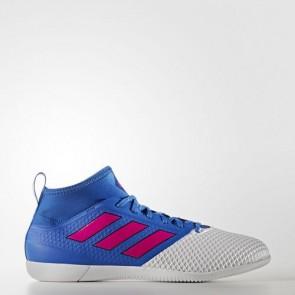 Zapatillas Adidas para hombre ace 17.3 primemesh azul/shock rosa/footwear blanco BB1761-442
