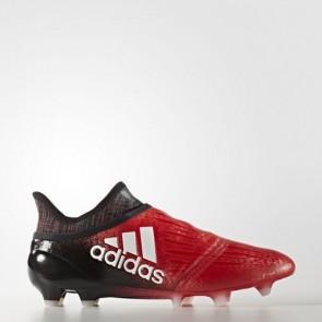 Zapatillas Adidas para hombre x 16+ césped natural rojo/footwear blanco/core negro BB5612-455