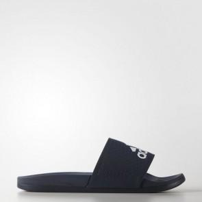 Zapatillas Adidas para hombre chancla lette cloudfoam plus collegiate navy/footwear blanco AQ3116-458