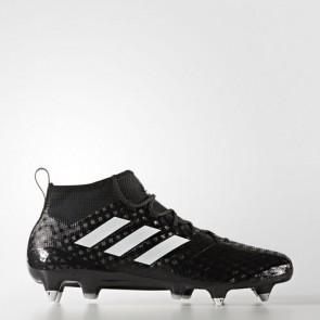 Zapatillas Adidas para hombre ace 17.1 leather césped natural core negro/footwear blanco/night metallic BA9190-465