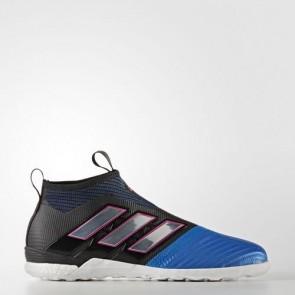 Zapatillas Adidas para hombre ace tango 17+ purecontrol core negro/footwear blanco/azul BY2820-467