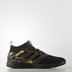Zapatillas Adidas para hombre ace tango 17.1 core negro/matte gold BY9161-473