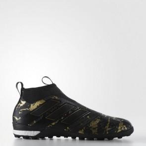 Zapatillas Adidas para hombre ace tango 17+ core negro/matte gold BY9164-476
