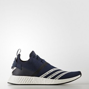 Zapatillas Adidas para hombre mountaneering nmd_r2 collegiate navy/footwear blanco BB3072-489