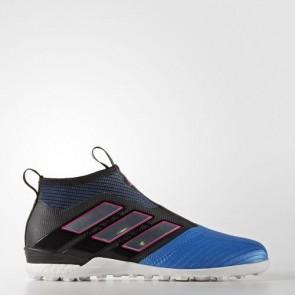 Zapatillas Adidas para hombre ace tango 17+ purecontrol core negro/footwear blanco/azul S82079-492