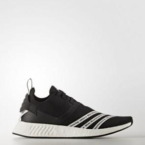 Zapatillas Adidas para hombre mountaneering nmd_r2 core negro/footwear blanco BB2978-496