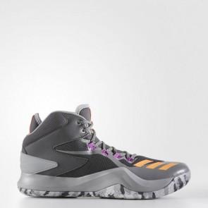 Zapatillas Adidas para hombre d rose dominate 4 gris oscuro/glow naranja/solid gris BB8180-503
