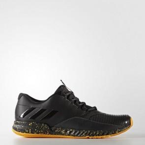 Zapatillas Adidas para hombre crazy pro core negro/solar gold BY2871-504
