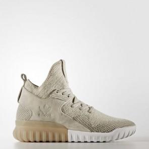 Zapatillas Adidas para hombre tubular x primeknit sesame/marrón claro/trace cargo BB2381-526