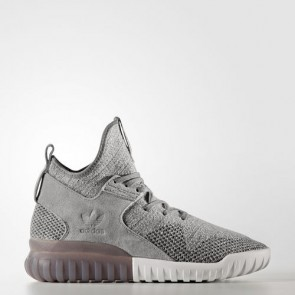 Zapatillas Adidas para hombre tubular x primeknit solid gris/utility negro/crystal blanco BB2380-529