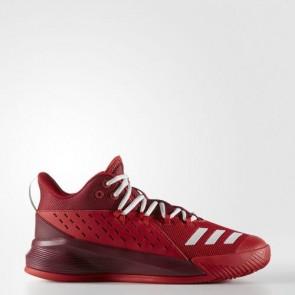 Zapatillas Adidas para hombre street jam 3 scarlet/pearl gris/collegiate burgundy BB7125-534