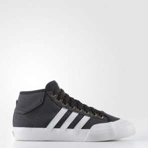 Zapatillas Adidas para hombre match court mid core negro/crystal blanco/gold metallic BB8574-539