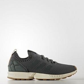 Zapatillas Adidas para hombre zx flux primeknit utility ivy/gum BA7373-541