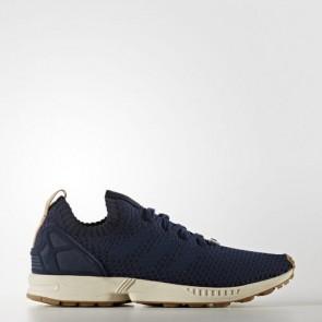 Zapatillas Adidas para hombre zx flux primeknit collegiate navy/gum BA7372-543