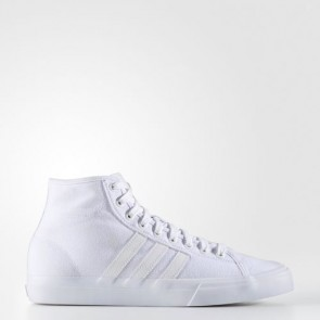 Zapatillas Adidas para hombre match court mid footwear blanco BY4245-544