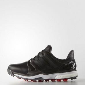 Zapatillas Adidas para hombre power boost 2.0 core negro/dark silver metallics/rojo Q44660-555