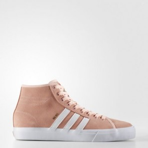 Zapatillas Adidas para hombre match court mid haze coral/footwear blanco BY3395-556