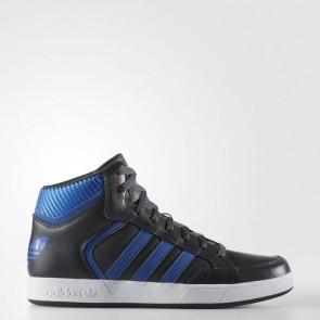 Zapatillas Adidas para hombre varial mid gris oscuro/azul/footwear blanco BB8770-557