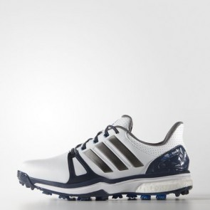Zapatillas Adidas para hombre power boost 2.0 blanco/azul/shock azul Q44661-558