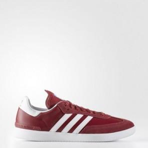 Zapatillas Adidas para hombre samba collegiate burgundy/footwear blanco/azulbird BB8688-560
